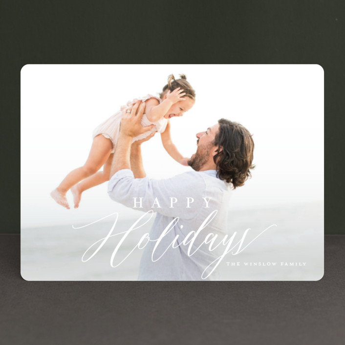 """Festivity"" - Holiday Photo Cards in Winter by Jessica Williams."
