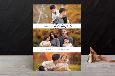 Simply Scripted Holiday Photo Cards