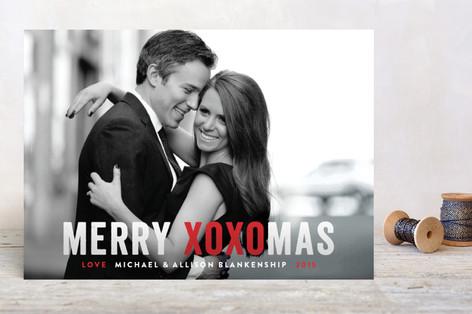 Happy XOXOMas Holiday Photo Cards