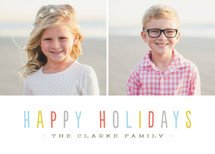 Bombolone Holiday Photo Cards By chocomocacino
