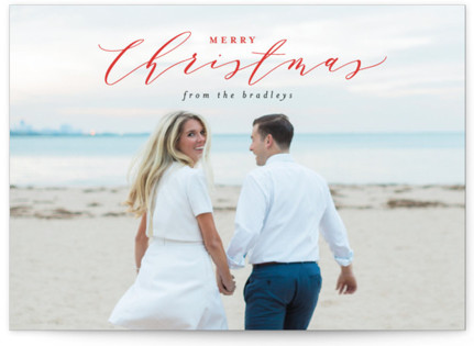 Christmas Greetings Holiday Photo Cards