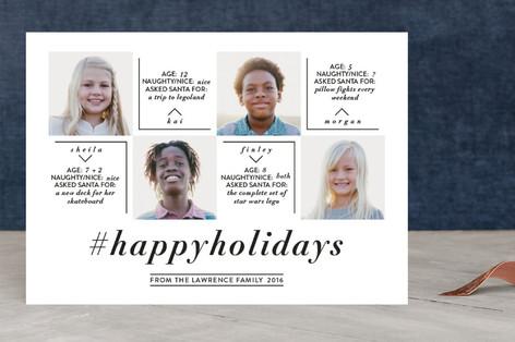 Hashtag Holiday Holiday Photo Cards