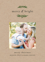 Grateful & Hopeful Holiday Photo Cards By Amy Kross