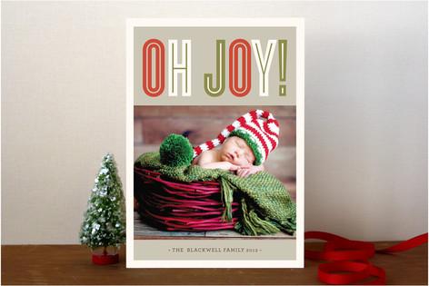 Bold Joy Holiday Photo Cards