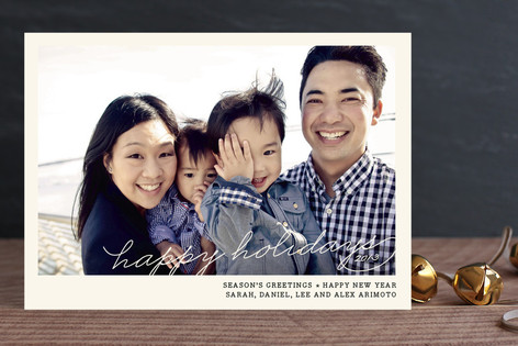 Vintage Photograph Holiday Photo Cards