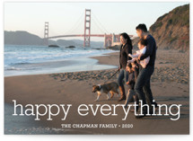 Happy Everything Holiday Photo Cards By annie clark