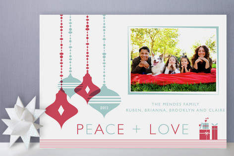 Ornaments Holiday Photo Cards