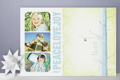 Winter Forest Holiday Photo Cards