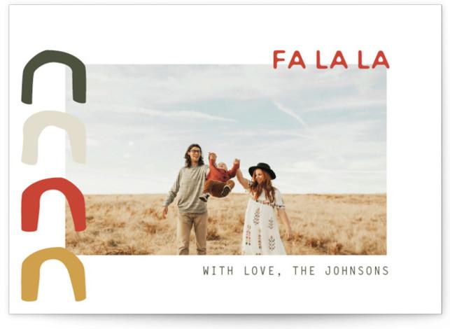 Fa La La La La La La La La Holiday Photo Cards