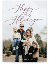 Understated Elegance Holiday Photo Cards By Ekko Studio