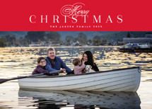 Classically Holiday Photo Cards By Melanie Kosuge
