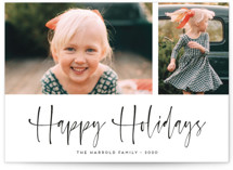 A Scripted Duet Holiday Photo Cards By Kaydi Bishop