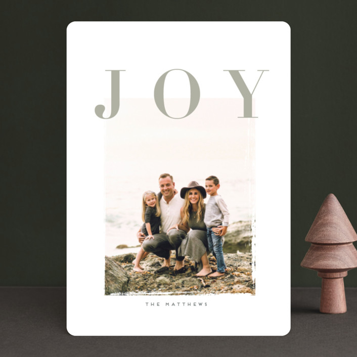 """""""dulcezza"""" - Holiday Photo Cards in Blueberry by chocomocacino."""