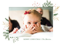Wintertide Holiday Photo Cards By Oscar & Emma