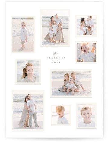 Modern Snapshots Holiday Photo Cards