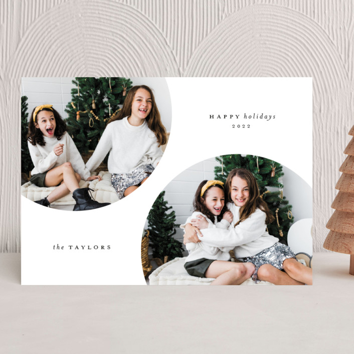 """""""Circulars"""" - Holiday Photo Cards in Cole by Kristel Torralba."""