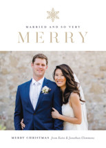 Snow Merry Holiday Photo Cards By Jessica Williams