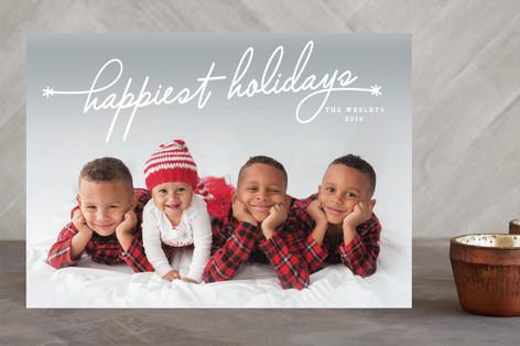 Heartfelt Holiday Holiday Photo Cards