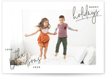 hand-written holiday Holiday Photo Cards By Lindsay Stetson Thompson