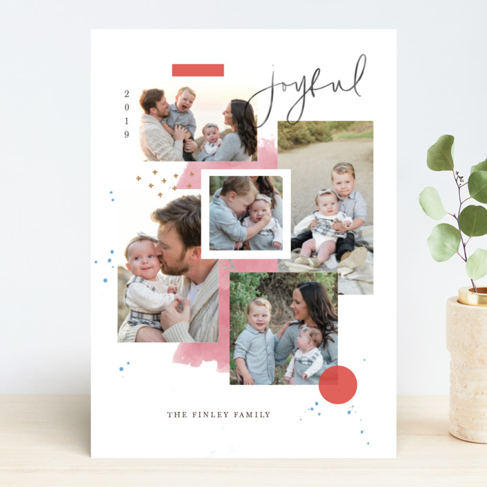 """Holiday Mood Board"" - Holiday Photo Cards in Merry by Kristen Smith."