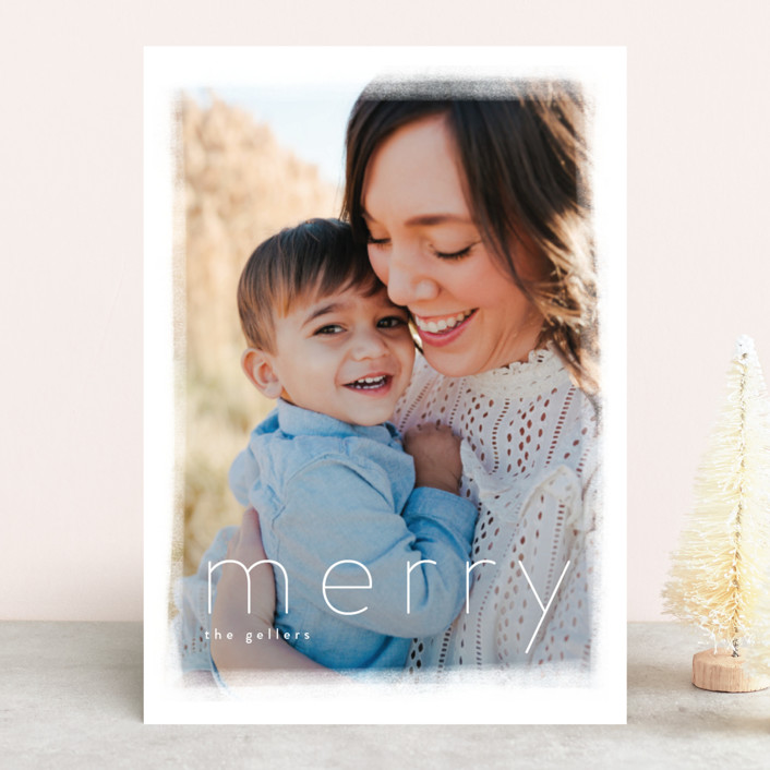 """sugar pie"" - Holiday Photo Cards in Cloudy by chocomocacino."