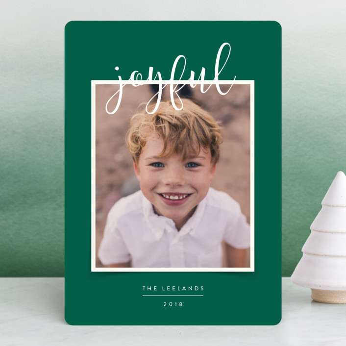 """""""Favorite Photo"""" - Holiday Photo Cards in Fir by Jody Wody."""