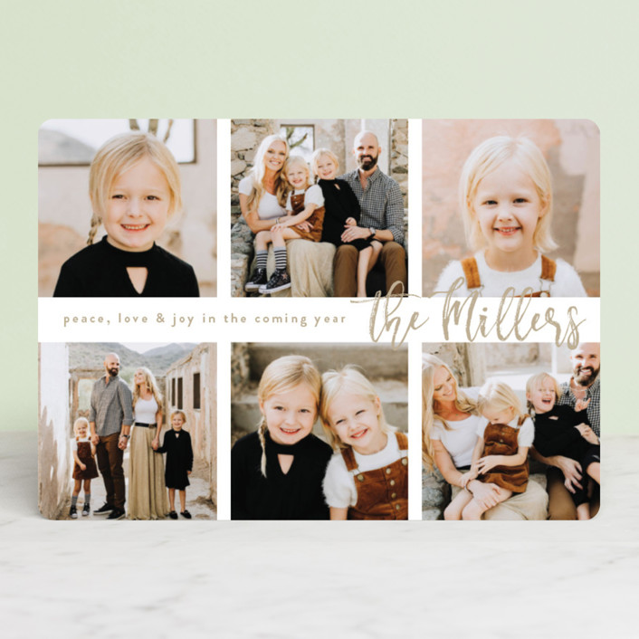 """Half Dozen"" - Holiday Photo Cards in Cardinal by Owl and Toad."