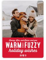 Dog Christmas Puns.Pet Holiday Cards Minted