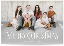 This is a white holiday photo card by Jennifer Wick called Together with standard printing on smooth signature in standard.