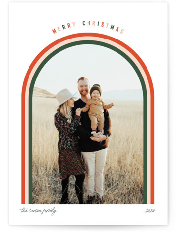 Merry Arch Holiday Photo Cards