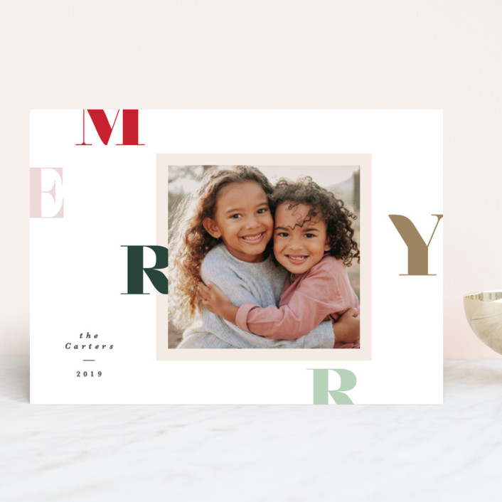 """""""Filter fun"""" - Holiday Photo Cards in Candy by Creo Study."""