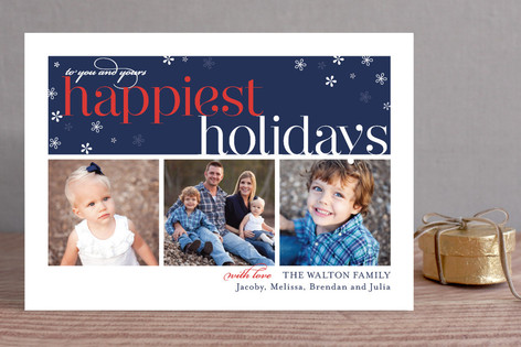 Merriest Wishes Holiday Photo Cards