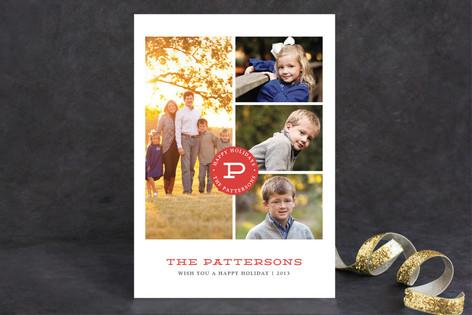 Family Album Holiday Photo Cards