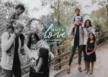 Love and Joy Holiday Photo Cards By chica design