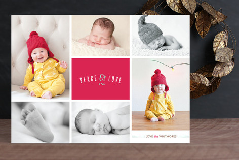 Merry and Multi Holiday Photo Cards