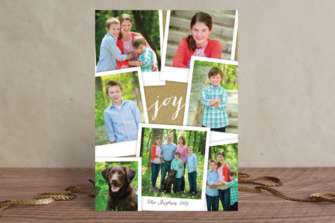 Simple Snapshots Holiday Photo Cards