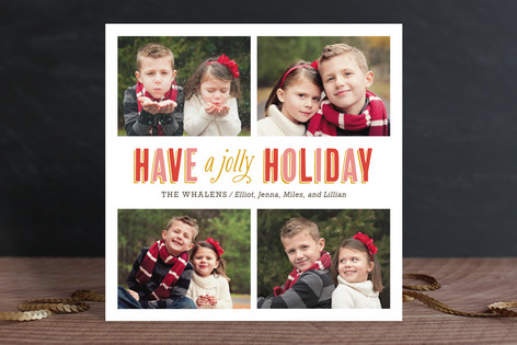 So Merry & Bright Holiday Photo Cards