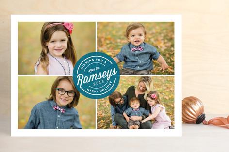 Signed & Sealed Holiday Photo Cards