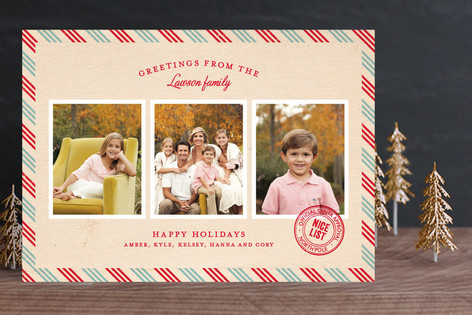 Par Avon Holiday Photo Cards