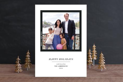 Framed Wonder Holiday Photo Cards