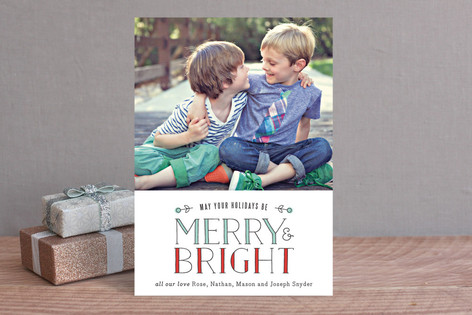 Light Bright Holiday Photo Cards