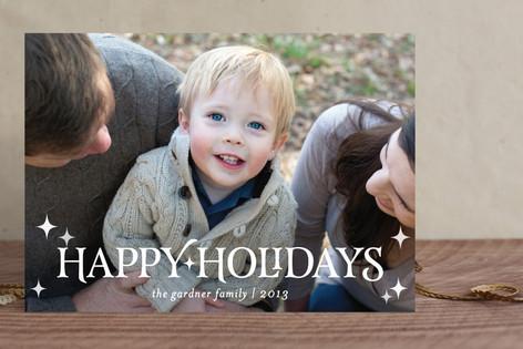 Modish Merry Holiday Photo Cards