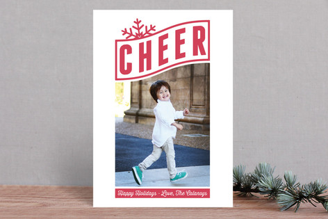 Cheery Holiday Photo Cards