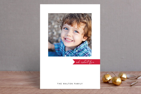 Simply Be Merry Holiday Photo Cards