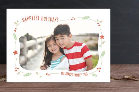 Festive Frame Holiday Photo Cards