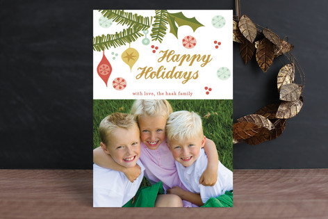 More Than Merry Holiday Photo Cards