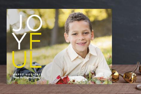 Joynormous Holiday Photo Cards