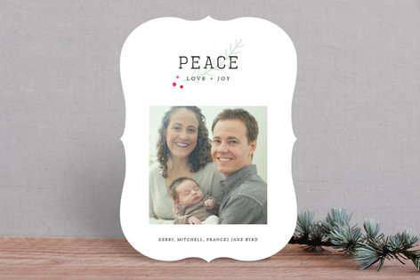 Frenchie Holiday Photo Cards