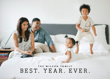 Best Year Ever Holiday Photo Cards By Melissa Kelman