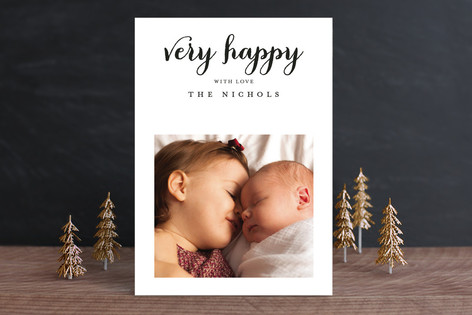 So Much Merry Holiday Photo Cards